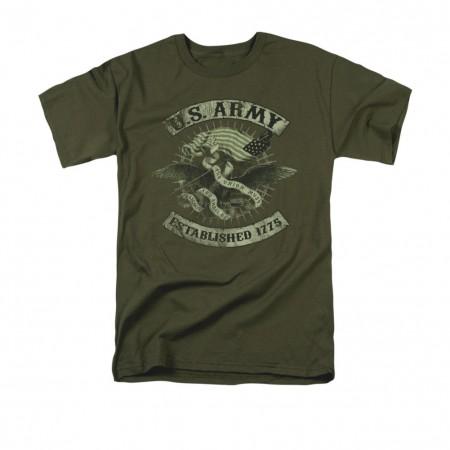 US Army Union Eagle Green T-Shirt