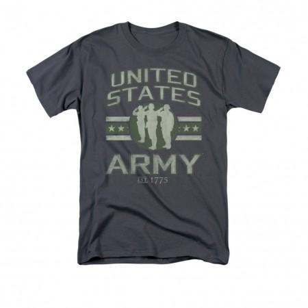 US Army Est 1775 Gray T-Shirt