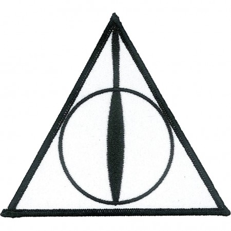 Harry Potter Iron-On Deathly Hallows Patch