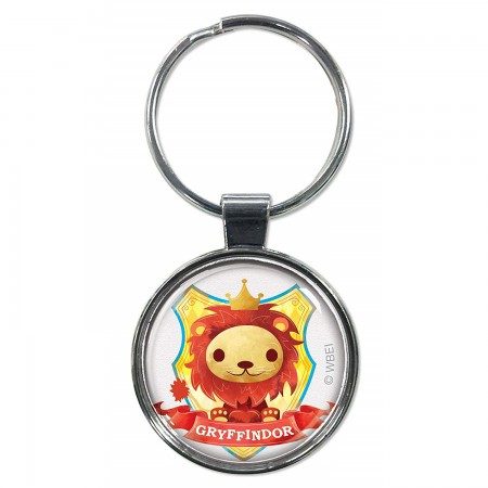 Harry Potter Gryffindor Cartoon Keychain