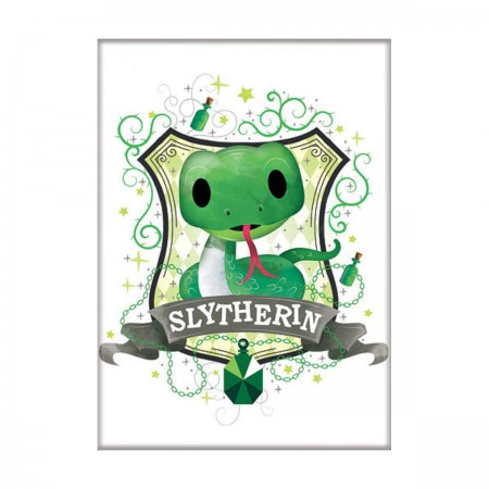 Harry Potter Cute Slytherin Magnet