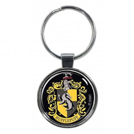 Harry Potter House Hufflepuff Crest Keychain