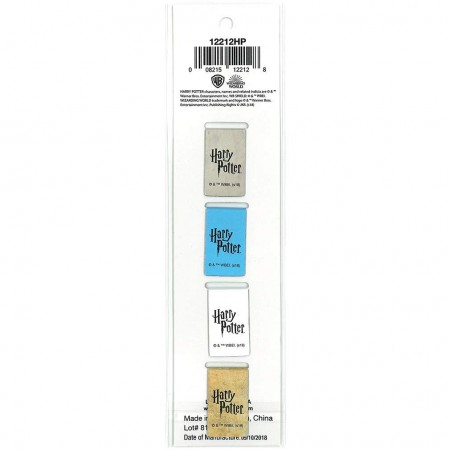 Harry Potter Magnetic Bookmark 4 Pack