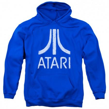 Atari Logo Blue Hoodie