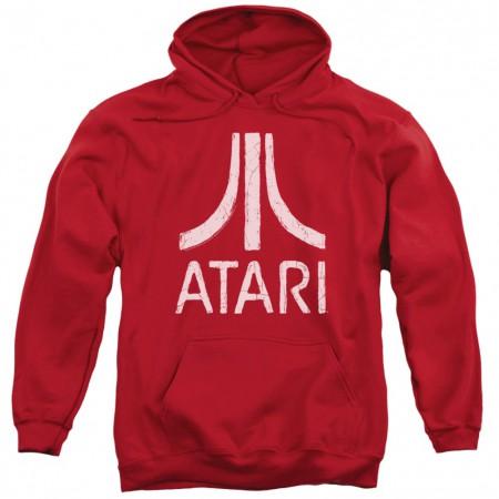 Atari Logo Red Hoodie