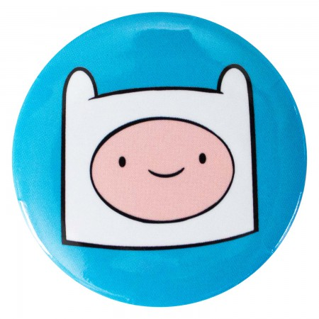 Adventure Time Blue Finn Button