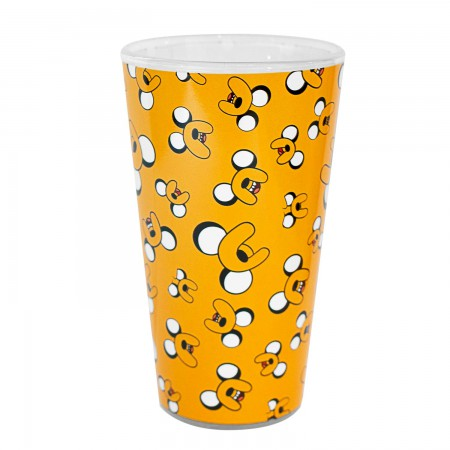 Adventure Time Jake Print Pint Glass