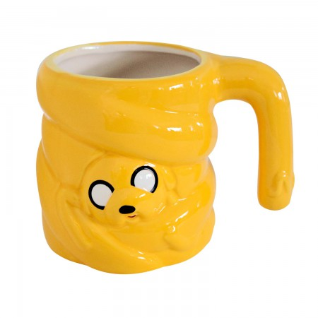Adventure Time Yellow Jake Coffee Mug