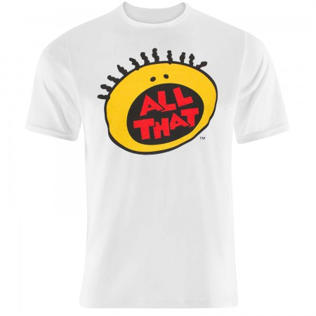 Nickelodeon Men's White All That T-Shirt