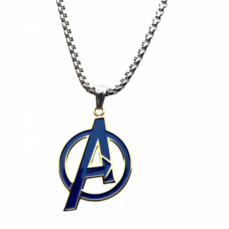 Avengers Logo Charm Necklace