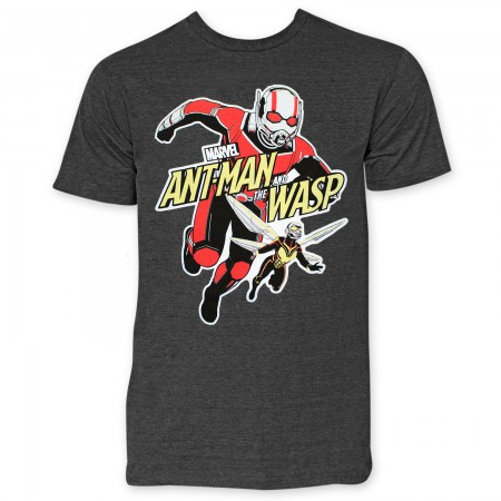 Ant-Man And The Wasp Attack Men's Grey T-Shirt