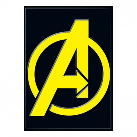 Avengers Comic Logo Magnet