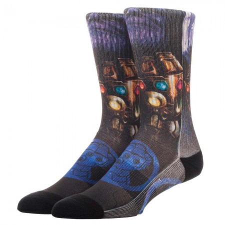 Avengers Infinity War Thanos Men's Socks