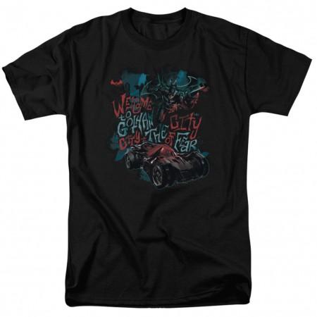Batman City of Fear Men's Black T-Shirt