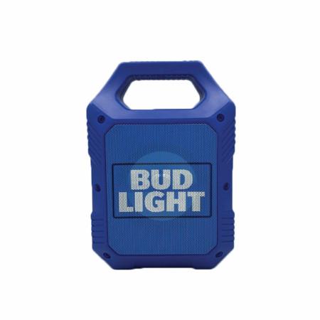 Bud Light 9' Rugged Tailgate LED Bluetooth Speaker