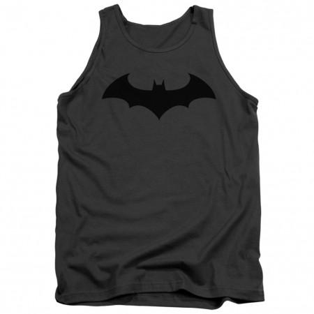 Batman Hush Logo Grey Tank Top
