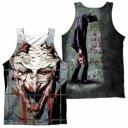 Batman Smile Sublimation Tank Top