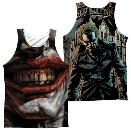 Batman Asylum Sublimation Tank Top