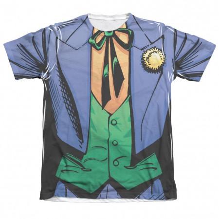 Batman Joker Costume Sublimation Men's T-Shirt