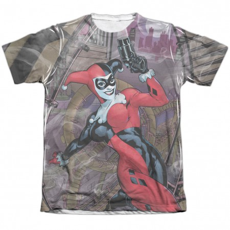 Harley Quinn Rollercoaster Of Love Sublimation T-Shirt