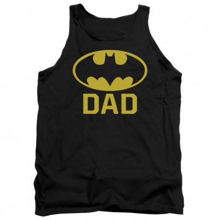 Batman Dad Logo Tank Top