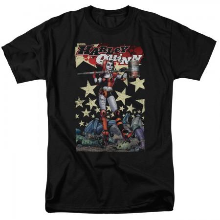 Harley Quinn Seeing Stars Tshirt