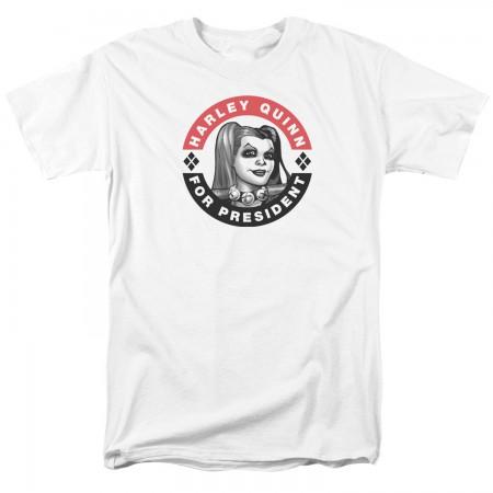 Harley Quinn For President Tshirt