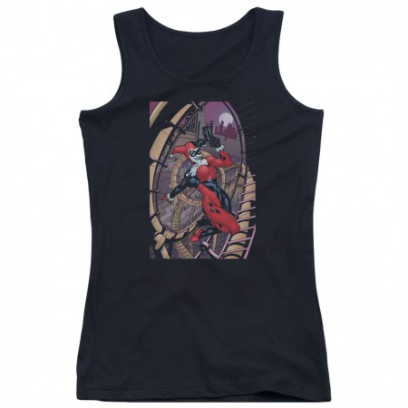 Harley Quinn Smoking Gun Women's Tank Top