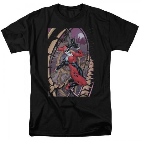 Harley Quinn Gun In Hand Tshirt