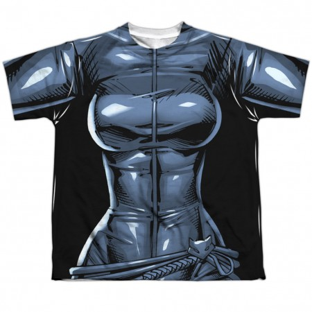 Catwoman Batman Villains Youth Costume Tee