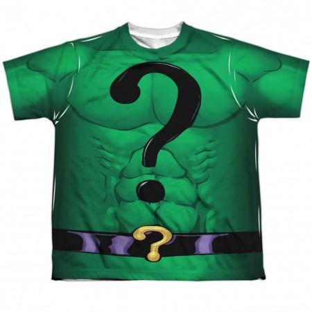 The Riddler Batman Villains Youth Costume Tee