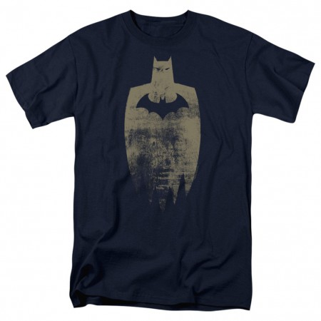 Batman Golden Shadow Men's Blue T-Shirt