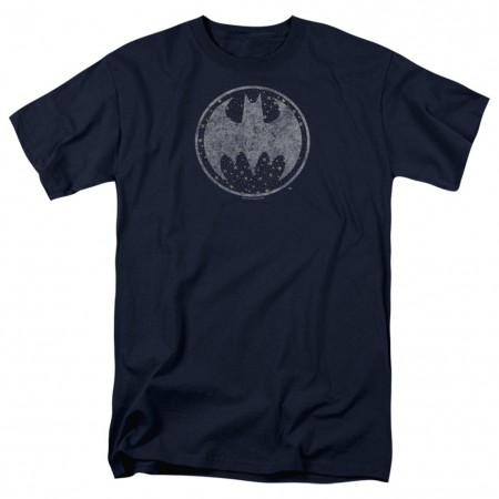 Batman Star Chart Logo Men's Black T-Shirt
