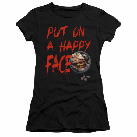 The Joker Put On A Happy Face Women's Fitted T-Shirt