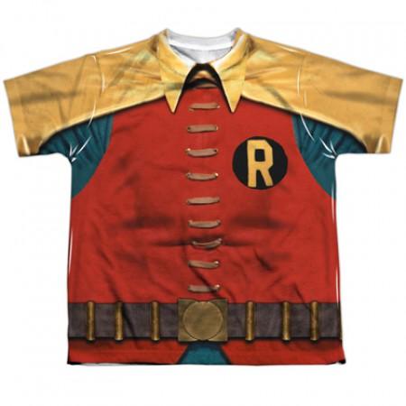 Robin Classic Batman and Robin Youth Costume Tee