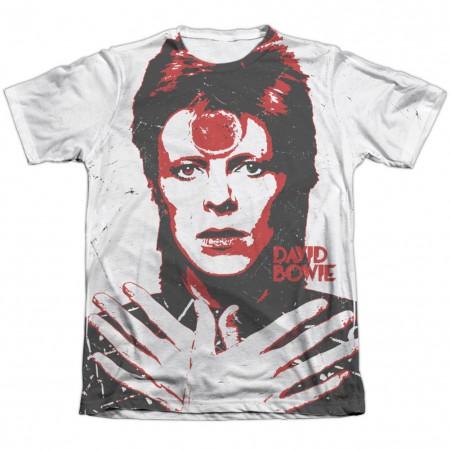 David Bowie Crossed Tshirt