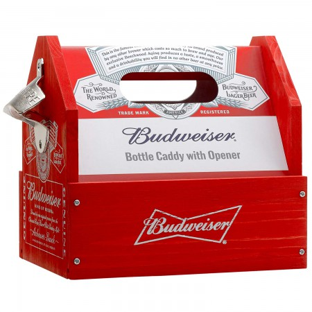 Budweiser Bottle Opener Beer Caddy