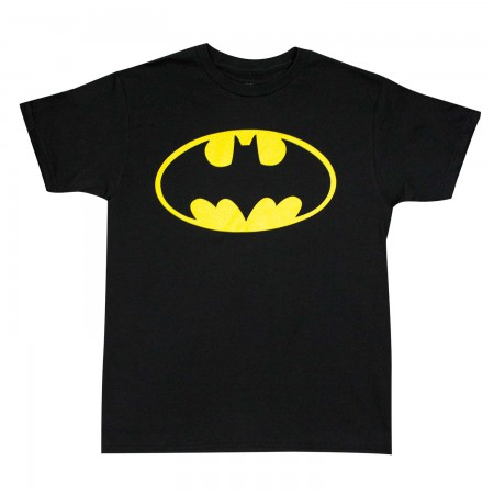 Batman Boys Youth Glow In The Dark T-Shirt