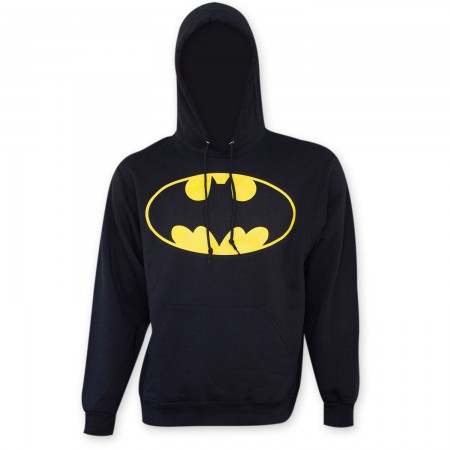 Batman Men's Bat Signal Hooded Sweatshirt