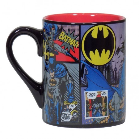 Batman Comic Panels 14oz Coffee Mug