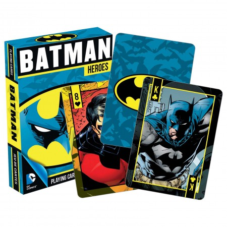 Batman Superhero Playing Cards