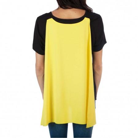 Batman Women's Interchangeable Cape Costume Tee Shirt