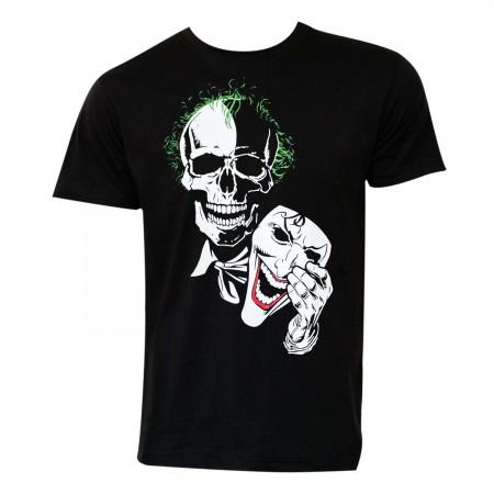 Joker Men's Black Mask T-Shirt