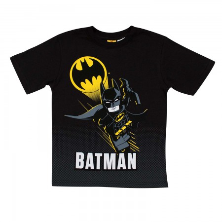 Batman LEGO Boy's Black Tee Shirt