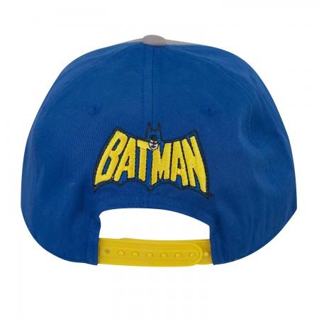 Batman Two-Tone Flat Bill Hat