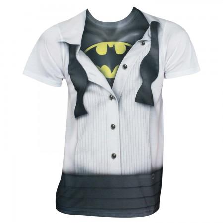 Batman Men's Tuxedo Costume T-Shirt