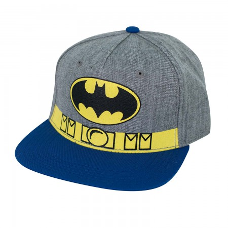 Batman Twill Utility Belt Snapback Hat