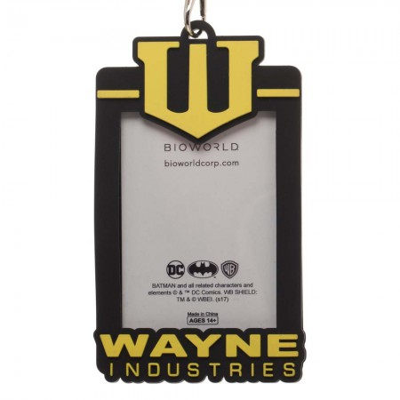 Batman Wayne Enterprises Lanyard