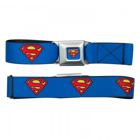 Superman Logo Seatbelt Belt
