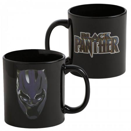 Black Panther Color Changing Mug